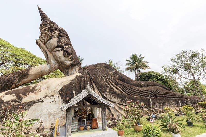 Parc de Bouddha ? Vientiane, Laos photo libre de droits
