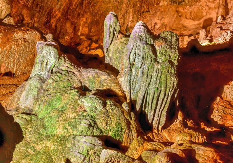 Parc de caverne de rivière de Camuy images stock