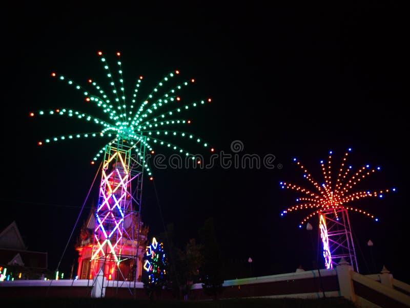Parc de centre de la ville dans une grande ville, secteur de PHITSANULOK EN THAÏLANDE du nord photos stock