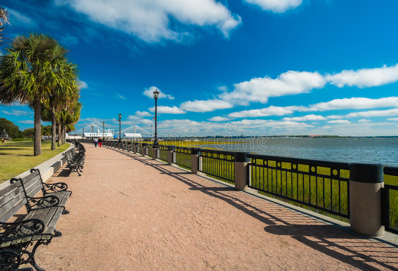 Parc de Charleston photos libres de droits