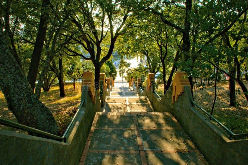 Parc de Covelo dans la ville de Porto photos libres de droits