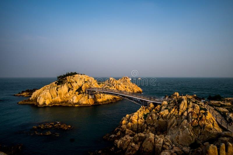 Parc de Daewangam, Ulsan, Corée du Sud photographie stock libre de droits
