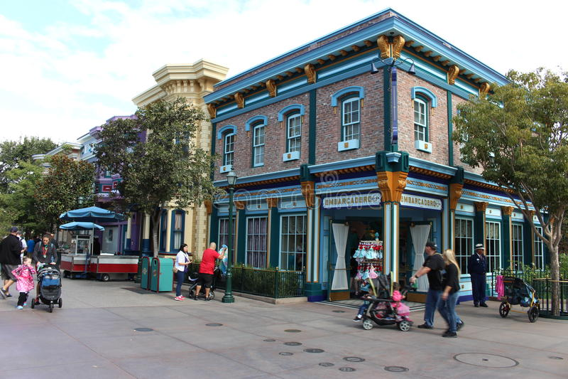 Parc de Disneyland images libres de droits