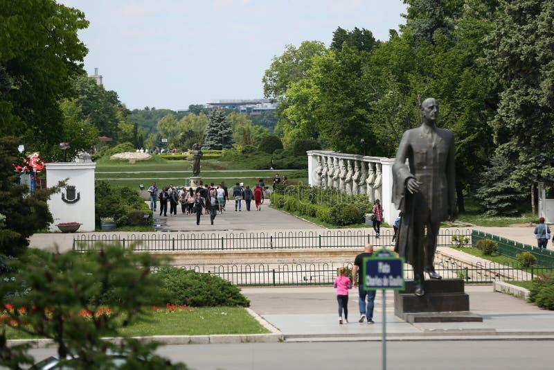 Parc de Herastrau, Bucarest images stock