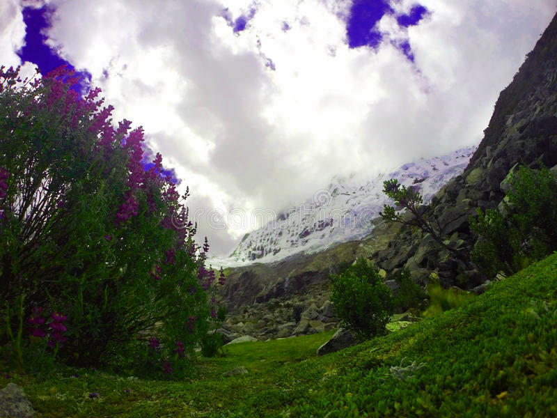 Parc de Huascaran image stock