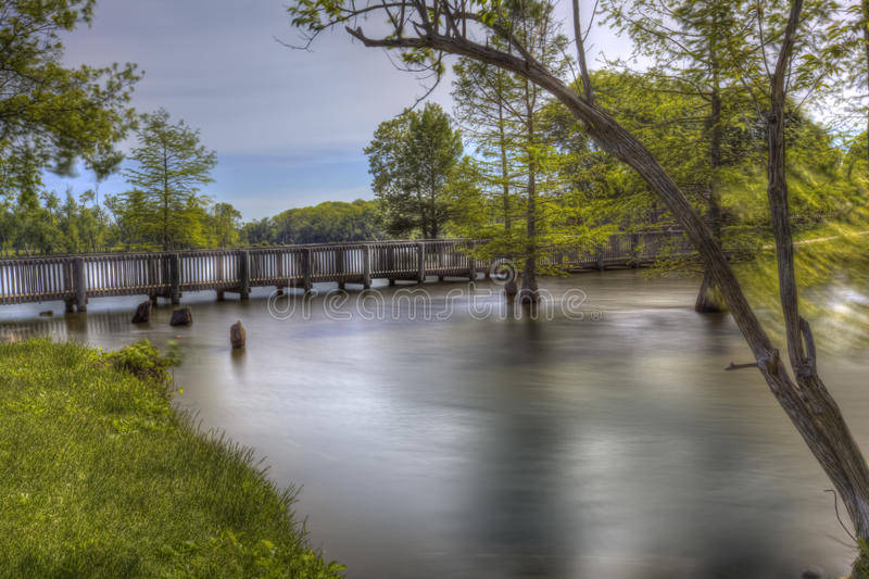 Parc de Jacobson à Lexington, Kentucky image stock