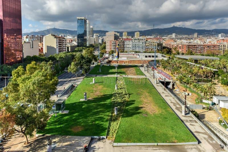 Parc de Joan Miro - Βαρκελώνη, Ισπανία στοκ εικόνα