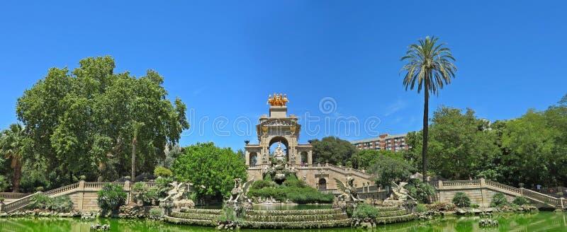 Parc de la Ciutadella lizenzfreie stockfotos