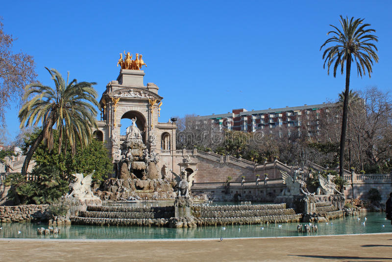 Parc de la Ciutadella (Ciutadella Park) royalty free stock images