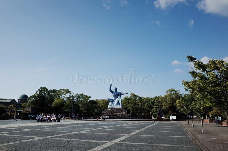 Parc de la paix de Nagasaki, Japon photo libre de droits