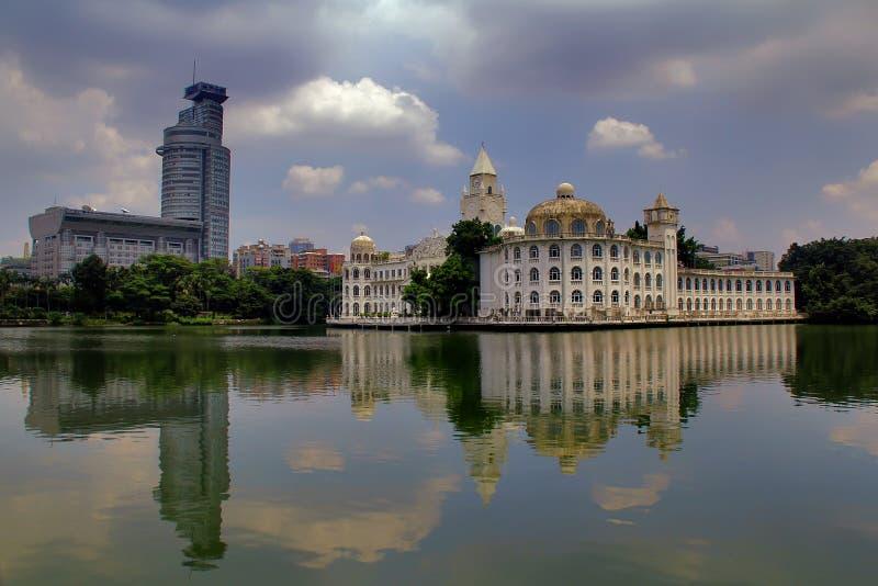 Parc de lac Liuhua, Canton images libres de droits