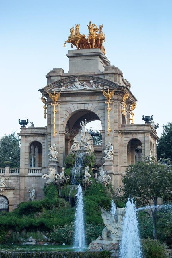 Parc De Los angeles Ciutadella zdjęcie royalty free