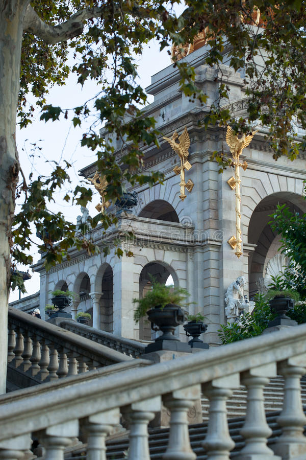 Parc De Los angeles Ciutadella obrazy royalty free