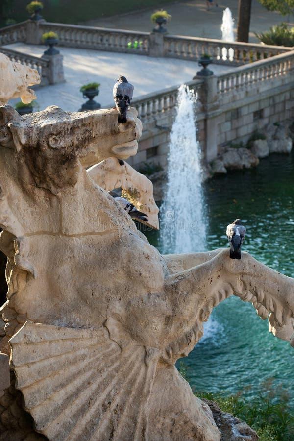 Parc De Los angeles Ciutadella obraz royalty free
