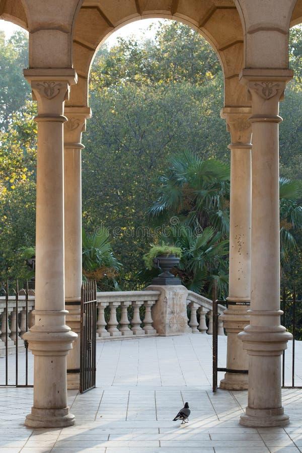 Parc De Los angeles Ciutadella zdjęcia stock