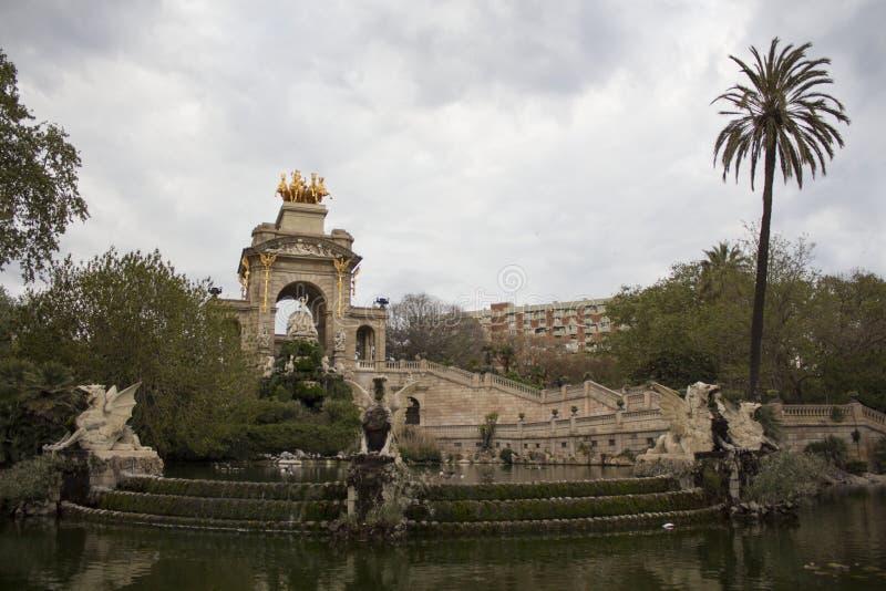 Parc De Los angeles Ciutadella w Barcelona obrazy stock