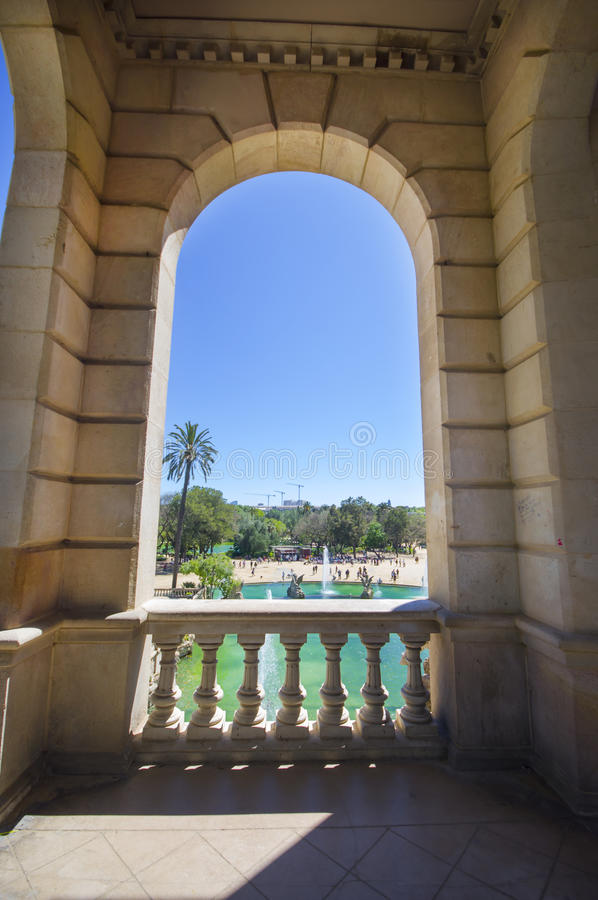 Parc De Los angeles Ciutadella w Barcelona obrazy royalty free