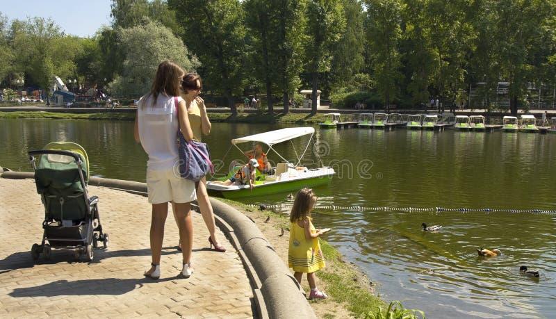 Parc de Moscou, Gorki photographie stock