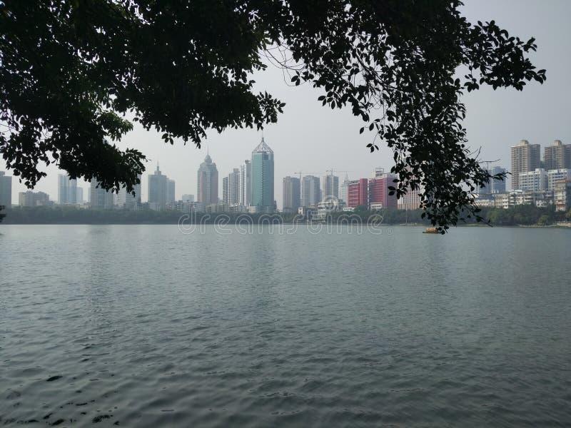 Parc de Nanning Nanhu photographie stock libre de droits
