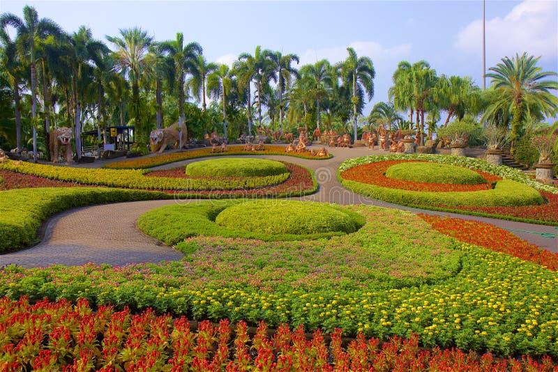 Parc de nooch de Nong à Pattaya, Thaïlande photographie stock libre de droits