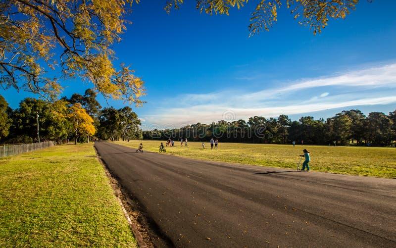 Parc de Parramatta photographie stock