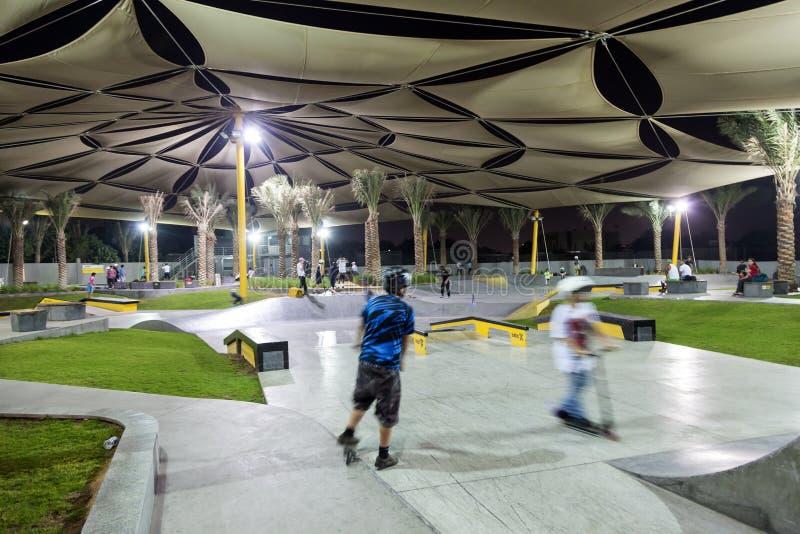 Parc de patin de XDubai photos libres de droits