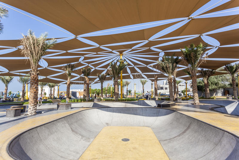 Parc de patin de XDubai images stock