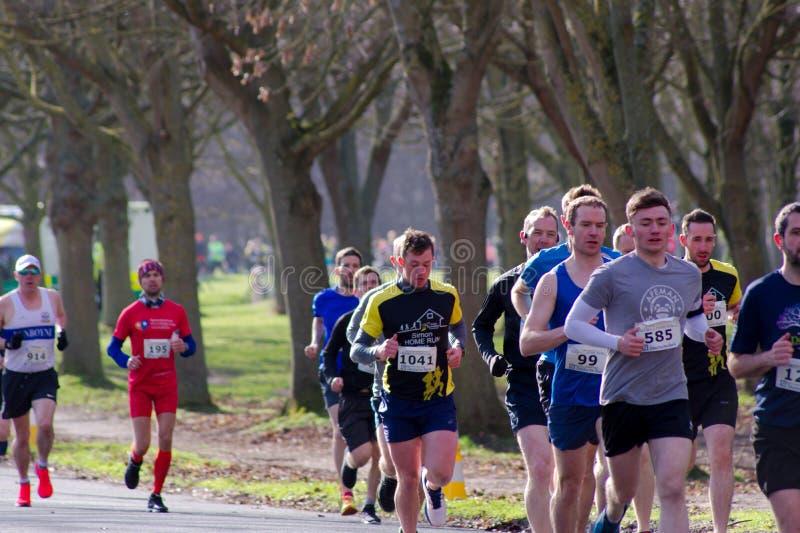 Parc de Phoenix, Dublin, Irlande le 9 avril 2019 : Simon Home Run 8K photographie stock