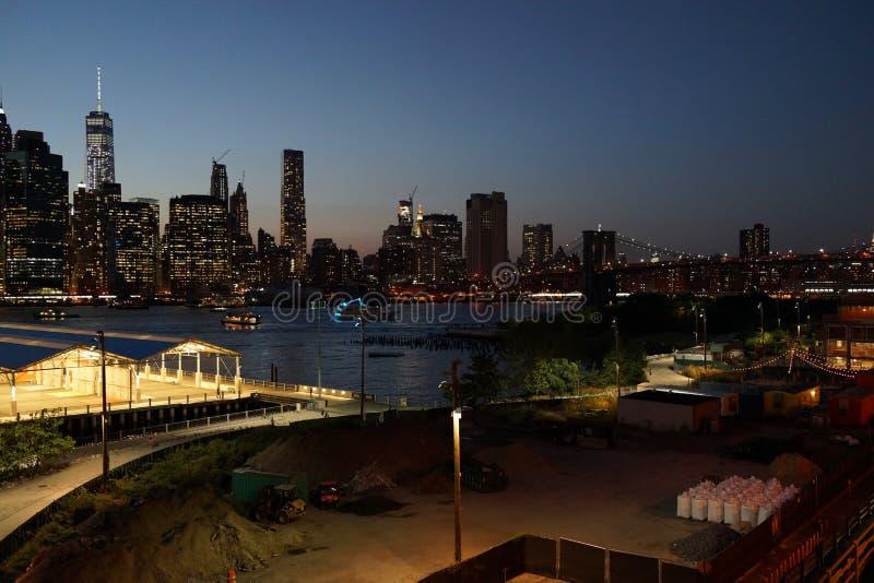 Parc 2 de pont de Brooklyn photographie stock libre de droits