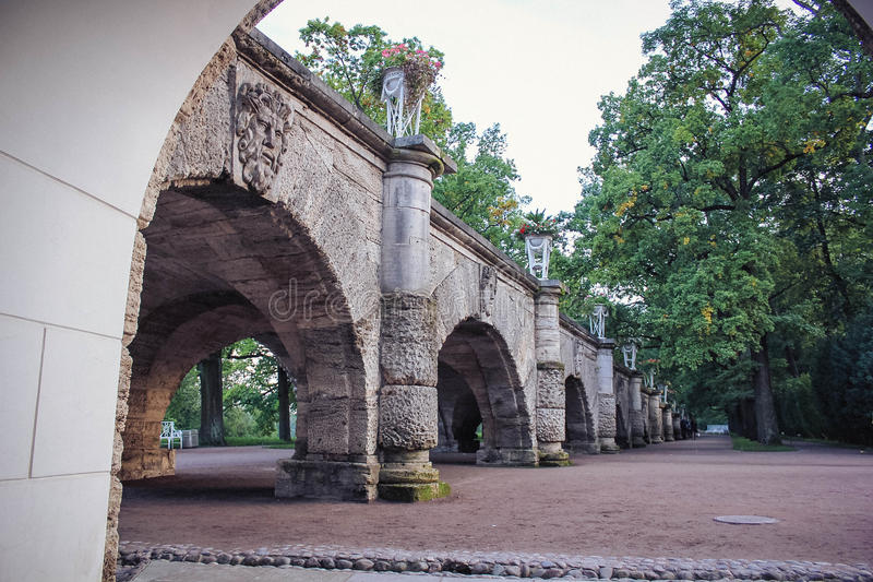 Parc de Pushkin photo stock