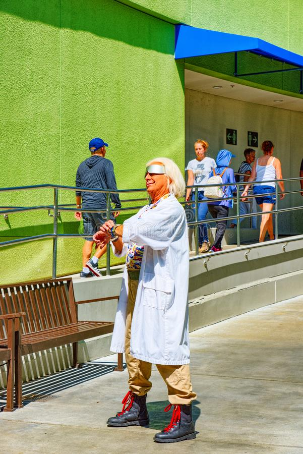 Parc de renommée mondiale Universal Studios à Hollywood photo stock
