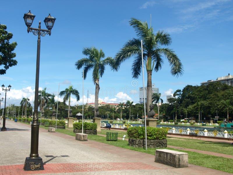Parc de Rizal à Manille photographie stock