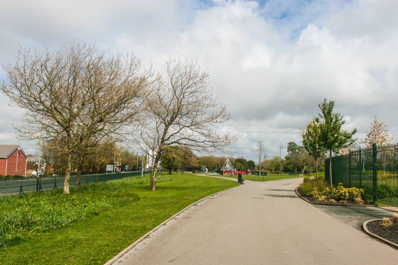 parc de Stanley intérieur, Liverpool photos libres de droits