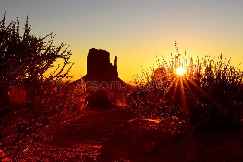 Parc de tribal de vallée de monument de nation de Navajo photographie stock libre de droits