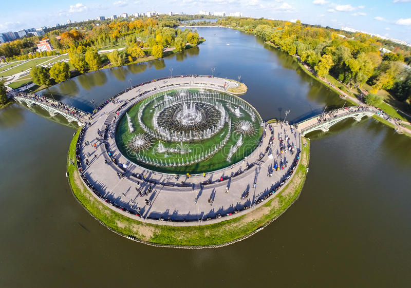 Parc de Tsaritsyno photographie stock libre de droits