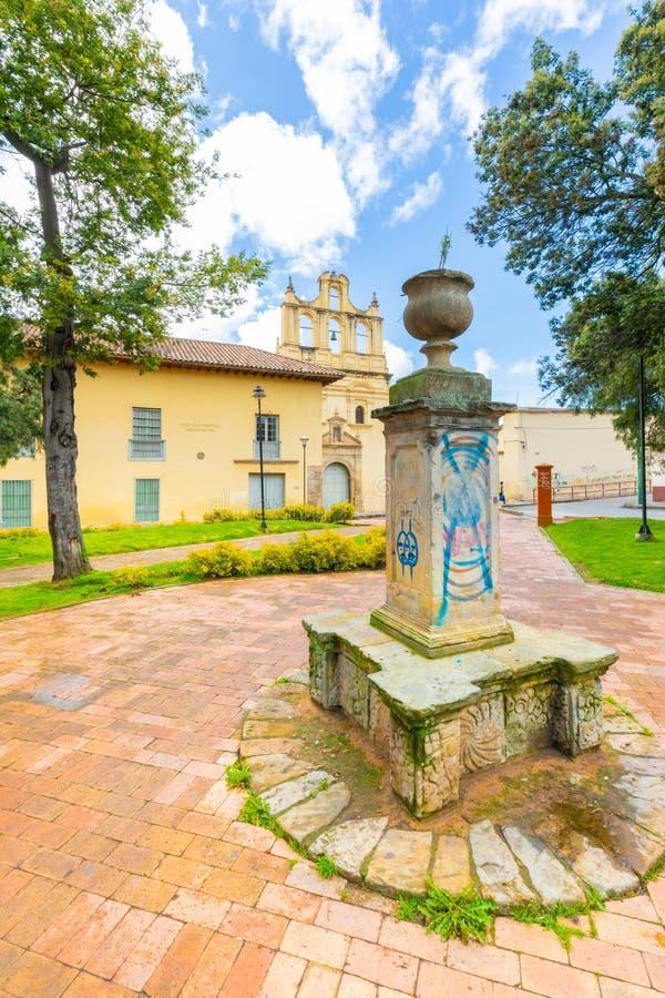 Parc de Tunja San Agustin Pinzon images libres de droits