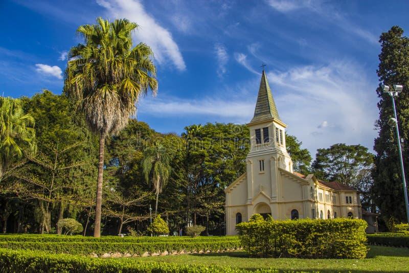 Parc de Vicentina Aranha - Sao Jose Dos Campos - Brésil photographie stock libre de droits