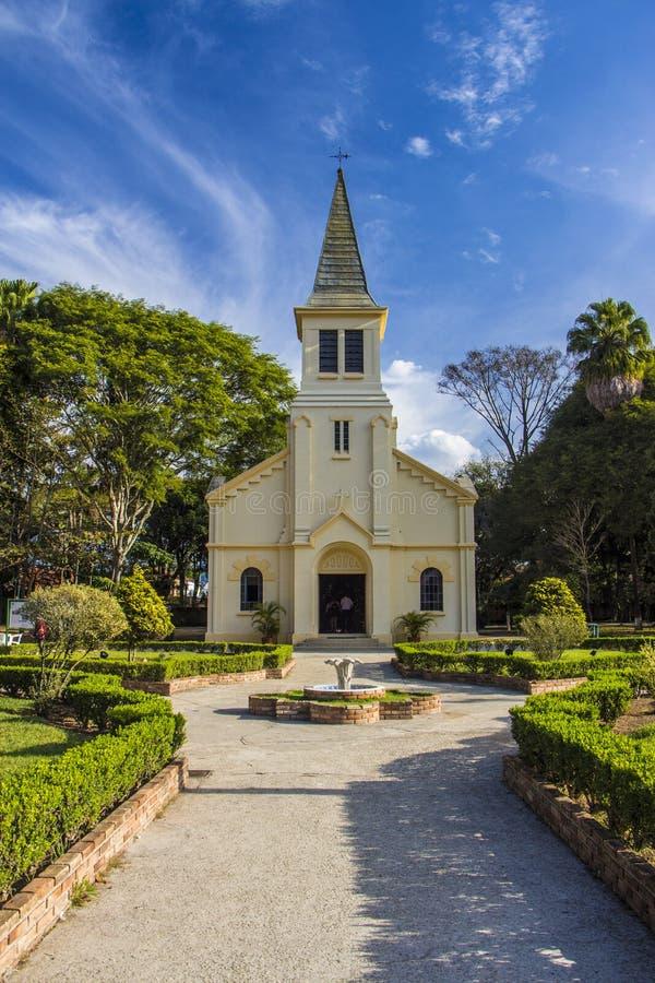 Parc de Vicentina Aranha - Sao Jose Dos Campos - Braz photographie stock libre de droits