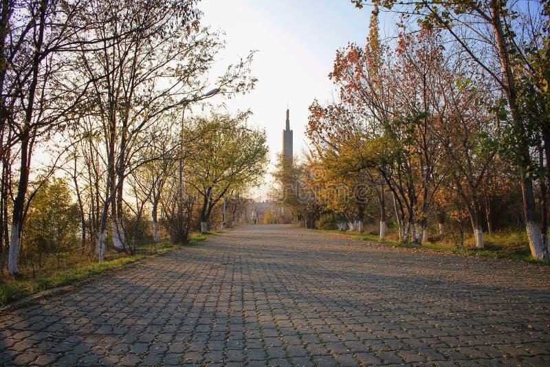 Parc de victoire à Erevan photo libre de droits