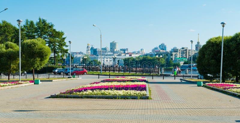 Parc à Iekaterinbourg, Russie photos libres de droits