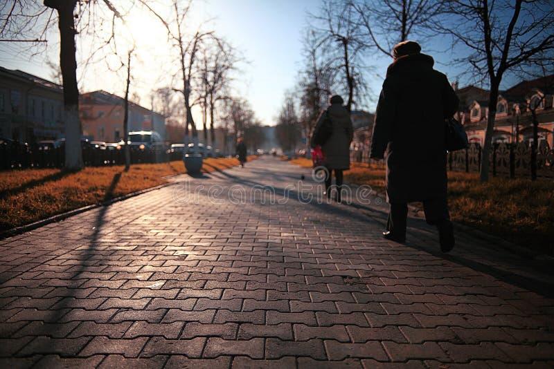 Parc de ville d'automne photo libre de droits
