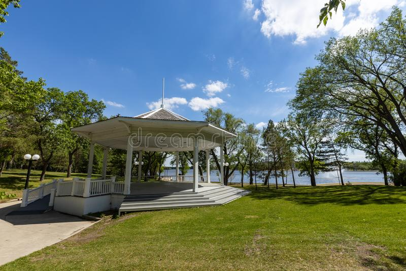 Parc de ville de Regina au Canada photos libres de droits