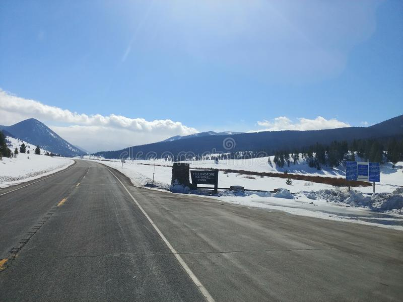Parc de Yellowstone images stock