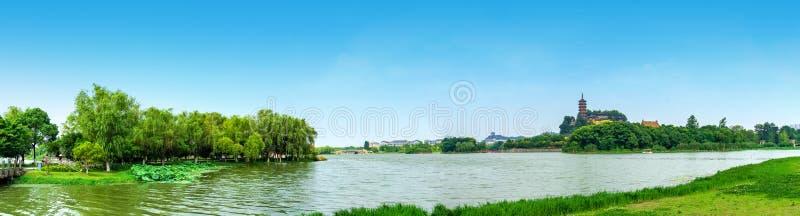 Parc de Zhenjiang Jinshan photographie stock libre de droits