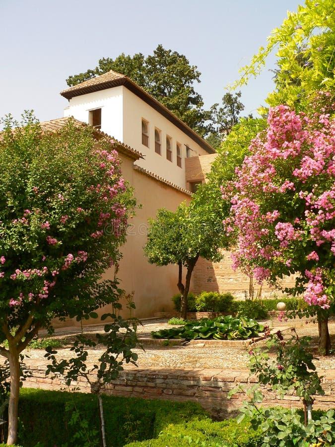 Parc di Alhambra fotografia stock libera da diritti