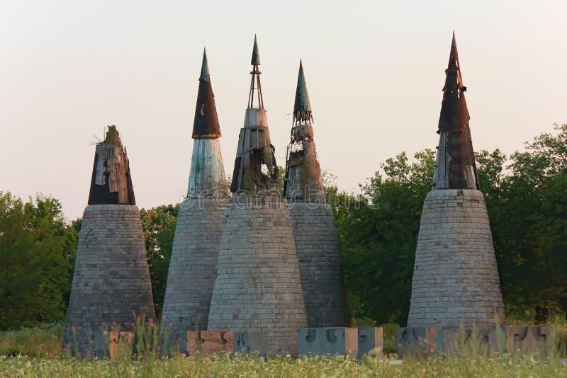 Parc Dudik à Vukovar photos stock