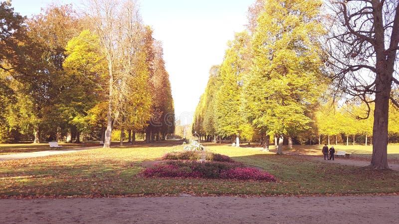 Parc en Allemagne image libre de droits