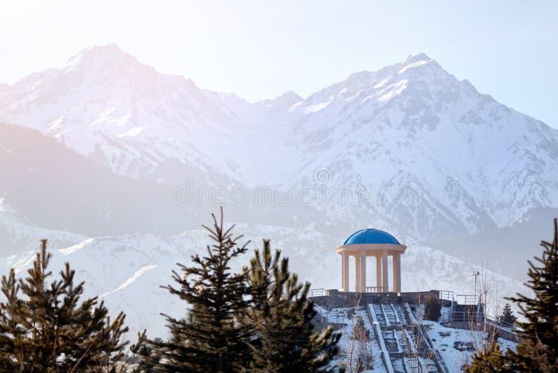 Parc en montagnes images libres de droits