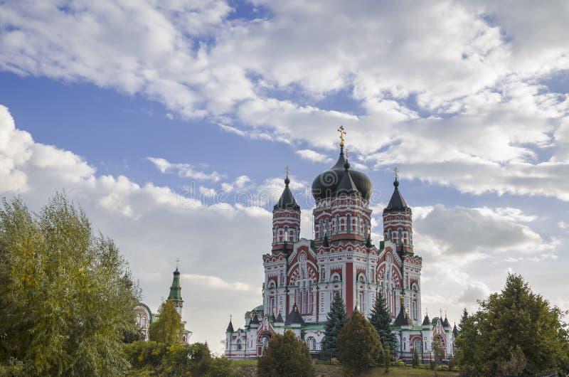 Parc Feofaniya - un des endroits les plus beaux à Kiev, le c images libres de droits