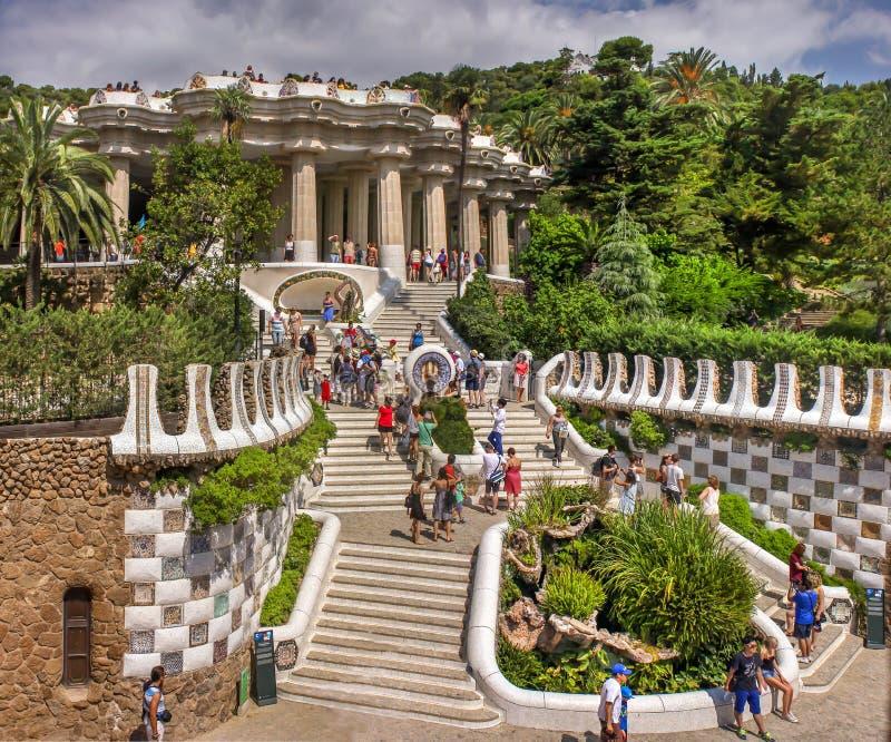 Parc Güel stock images
